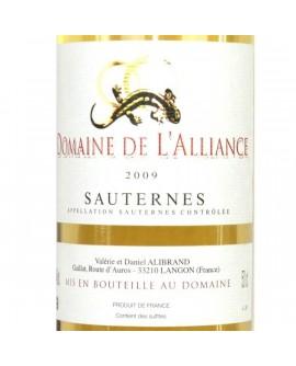Sauternes Domaine de l'Alliance 2009