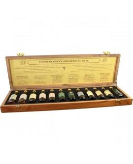 Coffret de Luxe Mignonettes Cognac Daniel BOUJU