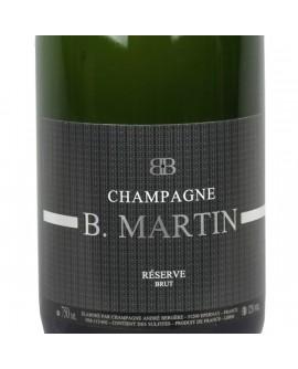 Champagne Brut Réserve B. Martin