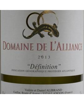 Définition 2013 Domaine de l'Alliance
