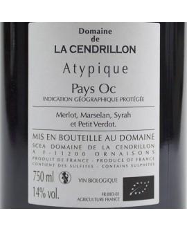 Atypique 2013 Domaine de la Cendrillon Pays d'Oc