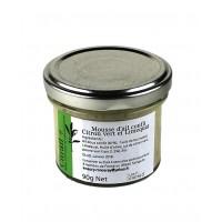 Mousse d'ail confit Citron vert et Limequat