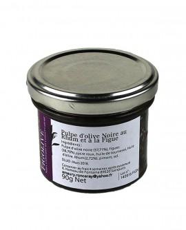 Pulpe d'olive Noire au Rhum a la Figue