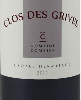 Crozes-Hermitage Clos des Grives 2012 Domaine Combier