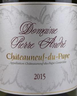Chateauneuf-du-pape 2015 Pierre André