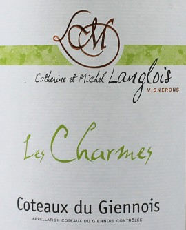 Coteaux du Giennois Les Charmes 2015 Michel LANGLOIS