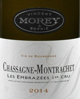 Chassagne-Montrachet 2014 Les Embrazées 1 er cru