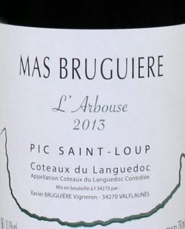 Mas Bruguiere L'Arbouse -2013 Pic Saint-Loup