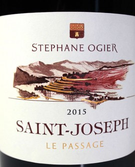 Stephane Ogier 2015 Saint-Joseph Le Passage