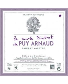 Castillon Côtes de Borbeaux Cuvée Bistrot Clos Puy Arnaud