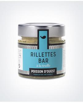 Rillettes bar aux truffes