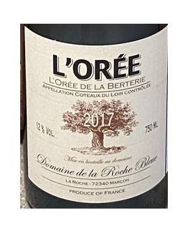 Coteaux du Loir L'Orée 2017