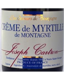 Crème de Myrtille de montagne Saveurs Joseph CARTRON