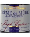 Crème de Mûre des roncières Saveurs Joseph CARTRON