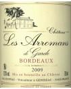 Bordeaux Les Arromans de Belle-Garde 2010 DUFFAU