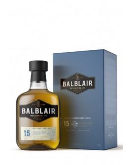 Whisky Balblair 15 ans