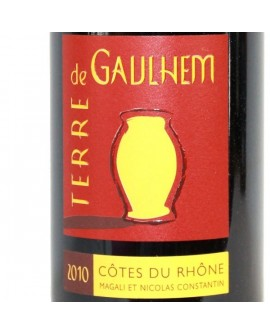 Côtes-du-Rhône Terre de Gaulhem 2010 Magali et Nicolas CONSTANTIN