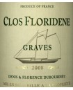 Graves Clos Floridène 2008