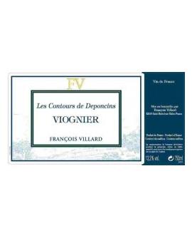 Les Contours de Deponcins (Viognier) 2018 Villard