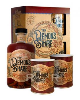 Rhum Demon's Share 6 ans coffret timballes