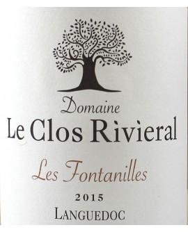 Domaine Le Clos Rivieral 2015 Les Fontanilles