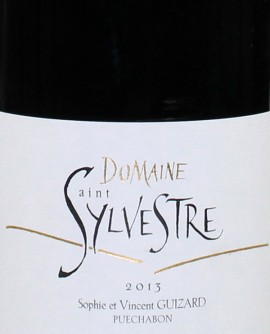 Domaine Saint Sylvestre 2015 Sophie et Vincent Guizard Puechabon