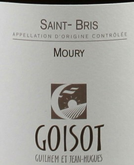 Saint-Bris 2013 Moury Goisot