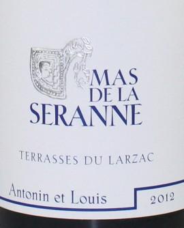 Terrasses du Larzac Antonin et Louis 2012 Mas de la Seranne