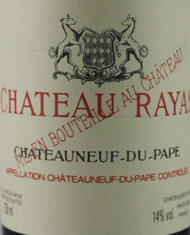 Chateau Rayas 2003 Chateauneuf-du-Pape